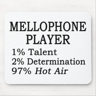 Mellophone Player Hot Air Mouse Pad