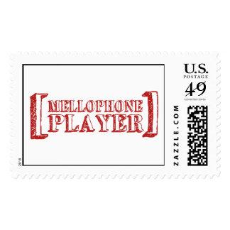 Mellophone Player Stamp
