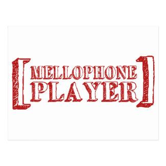 Mellophone Player Postcard
