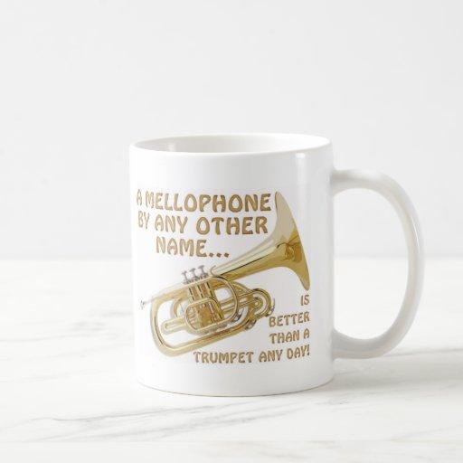 Mellophone por cualquier otro nombre tazas de café