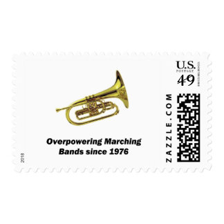 Mellophone Postage Stamps