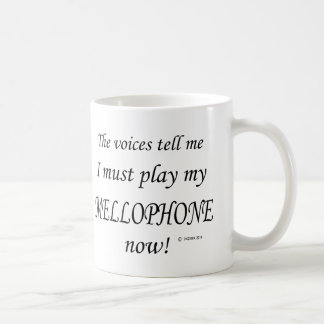 Mellophone Voices Say Must Play Coffee Mug