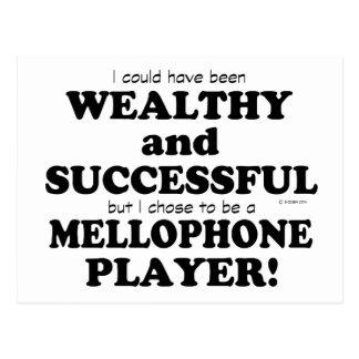 Mellophone Wealthy & Successful Postcard