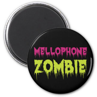Mellophone Zombie 2 Inch Round Magnet