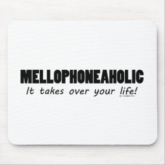 Mellophoneaholic Life Mouse Pad