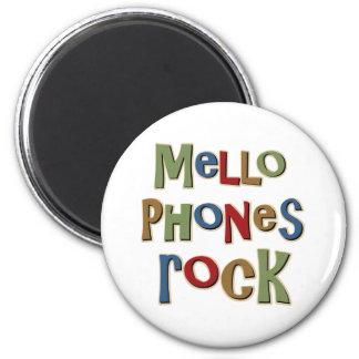Mellophones Rock 2 Inch Round Magnet