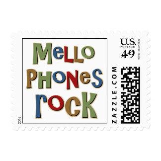 Mellophones Rock Postage Stamps