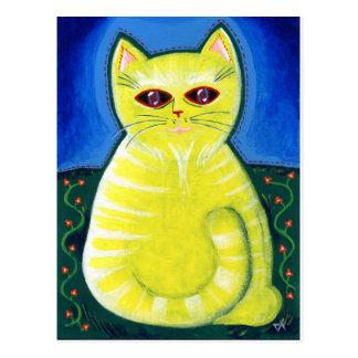 Mellow Cat Postcard