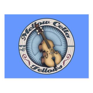 Mellow Cello Fellows Postcard