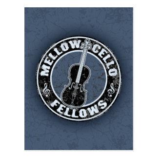 Mellow Cellos II Postcard