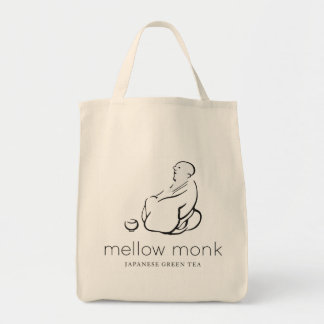 Mellow Monk Grocery Tote Tote Bags