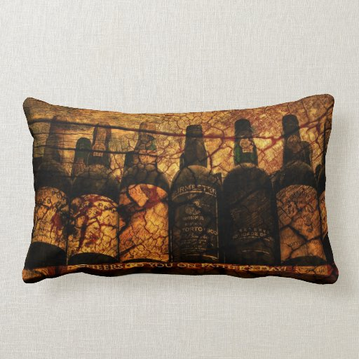 Mellow Oak: Cheers to You on Father's Day Pillows