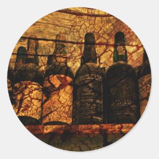 Mellow Oak Classic Round Sticker