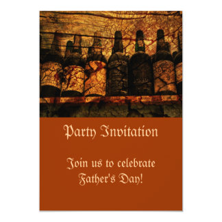 "Mellow Oak 5"" X 7"" Invitation Card"