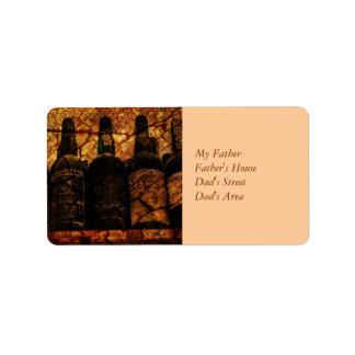 Mellow Oak Custom Address Label