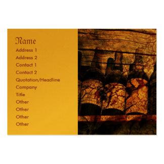 Mellow Oak Large Business Card