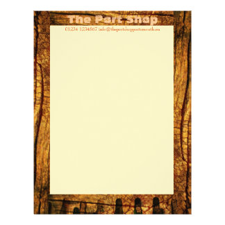 Mellow Oak Personalised Letterhead