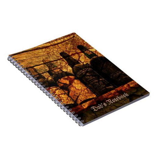 Mellow Oak Spiral Note Book