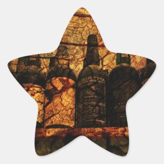 Mellow Oak Star Sticker