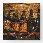 Mellow Oak Wall Clock