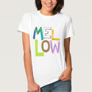 Mellow relaxed smooth calm cool fun word art T-Shirt