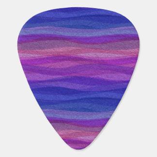 Mellow Waves Guitar Pick
