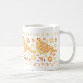 Mellow Yellow Bird Mug