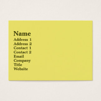 Mellow Yellow Business Card