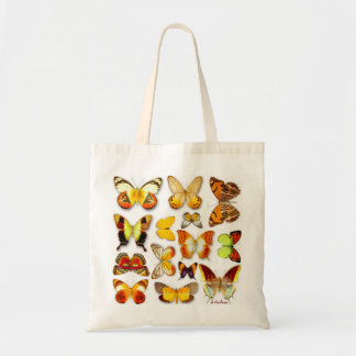 Mellow Yellow Butterfly Bag by S Ambrose