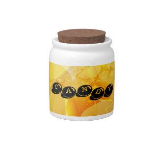 Mellow Yellow Candy Jar