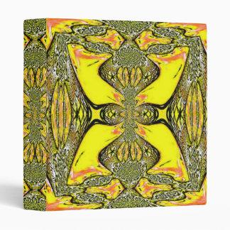Mellow Yellow Fractal Binder