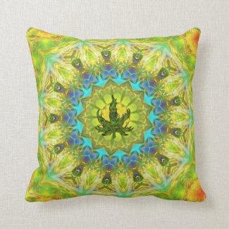 Mellow Yellow Pillow by My 420 Art