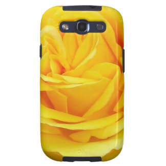 Mellow Yellow - Rose in Macro Samsung Galaxy S3 Covers