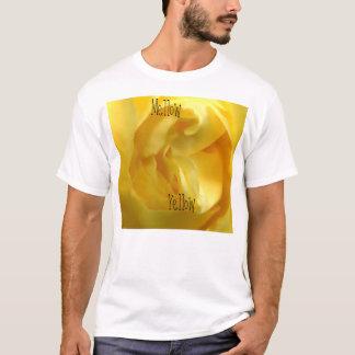 mellow yellow rose t-shirt