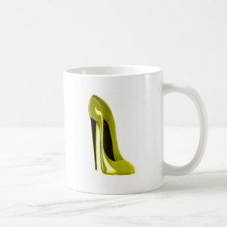 Mellow Yellow Stiletto Shoe Mug