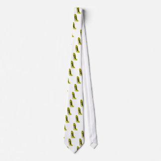 Mellow Yellow Stiletto Shoe Tie