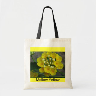 Mellow Yellow Tote Canvas Bags