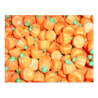 Mellowcreme Pumpkins Candy Postcard