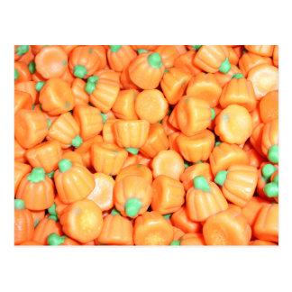 Mellowcreme Pumpkins Candy Postcard