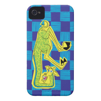 Melman Upside Down iPhone 4 Cover