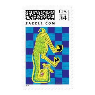 Melman Upside Down Stamp