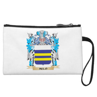 Melo Coat of Arms - Family Crest Wristlet Clutches