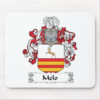 Melo Family Crest Mouse Pad