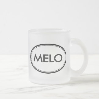 Melo Frosted Glass Coffee Mug