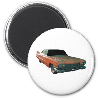 Melocotón 1959 de Cadillac Imanes Para Frigoríficos