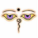 Melocotón amarillo Buda Eyes.png Escultura Fotográfica