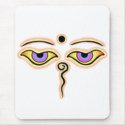 Melocotón amarillo Buda Eyes.png Alfombrilla De Ratones
