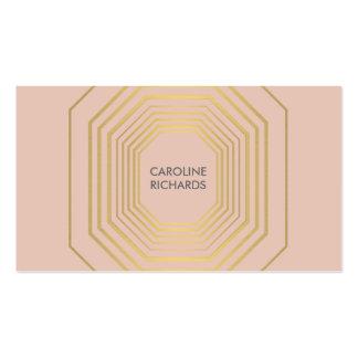 Melocotón atractivo del boutique de la moda del tarjetas de visita