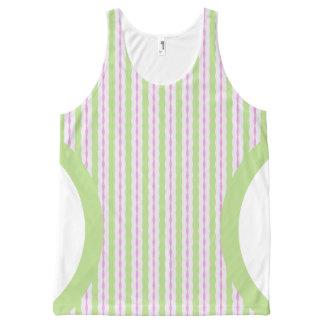 Melocotón de las señoras y camisetas sin mangas