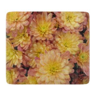 Melocotón del grupo de la planta del crisantemo tablas de cortar